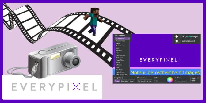 Everypixel – le moteur de recherche d'images des banques d'images les plus prestigieuses